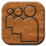 MySpace Woodburning Icon