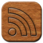 RSS Feed Woodburning Icon