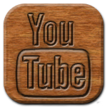 YouTube Woodburning Icon
